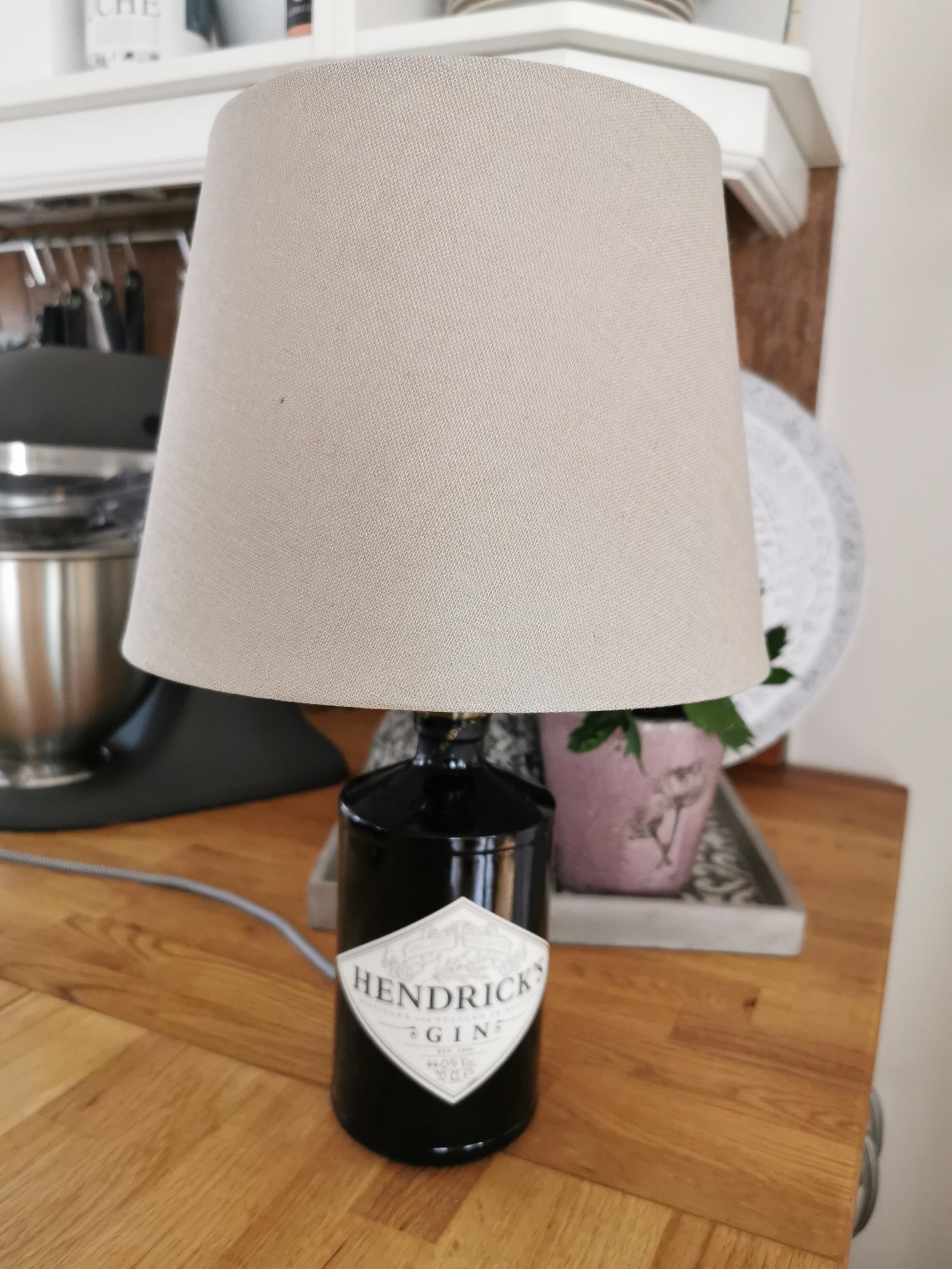 """Flaschenlampe """"Hendrick's"""""""